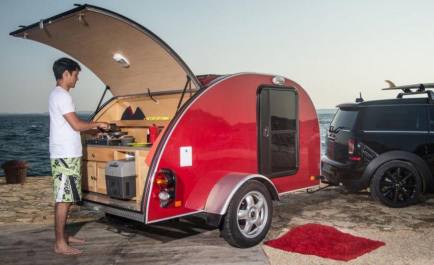 MINI Countryman ALL4 Camp concept, MINI Cowley concept trailer, MINI Clubvan Camper concepts - Slide 68