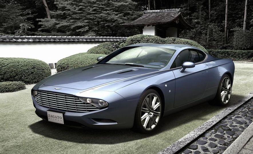 Aston Martin DBS Coupé Zagato Centennial concept - Slide 1