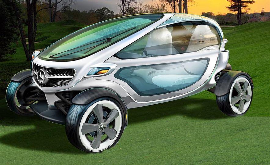 Mercedes-Benz Vision Golf Cart concept (artist's rendering) - Slide 1
