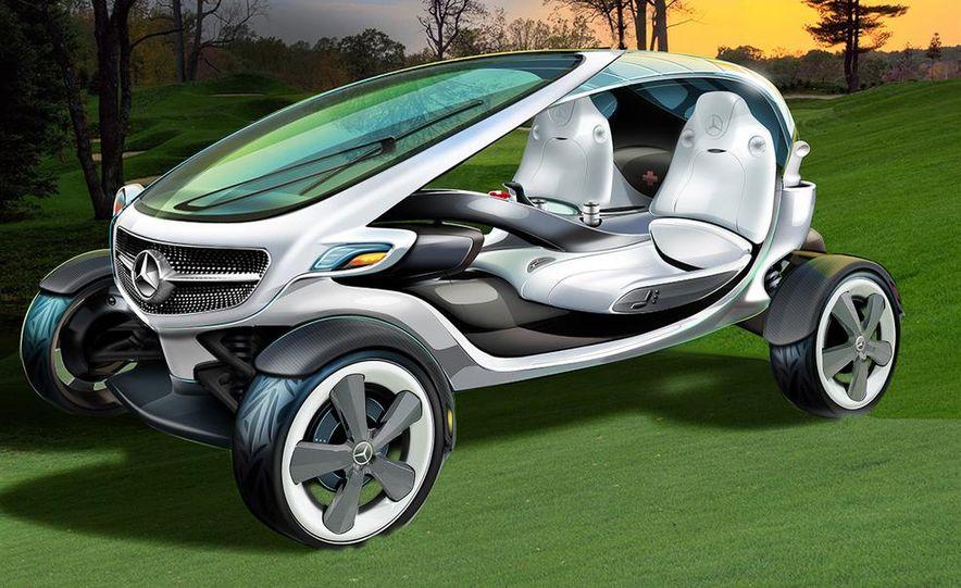 Mercedes-Benz Vision Golf Cart concept (artist's rendering) - Slide 2