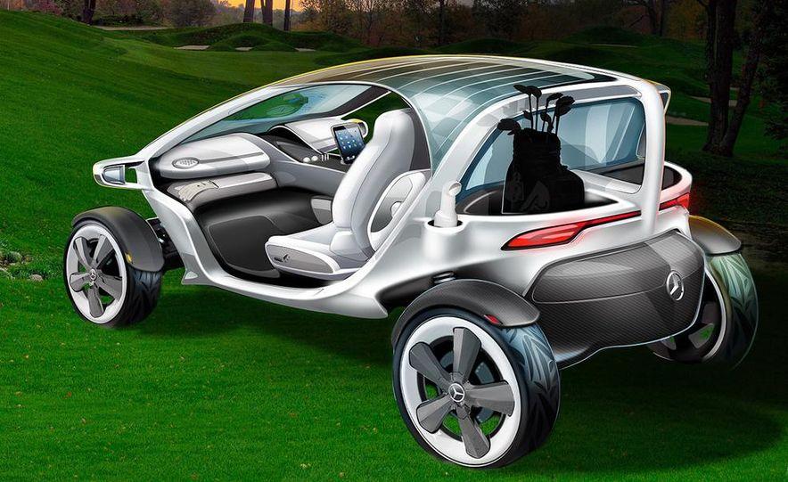 Mercedes-Benz Vision Golf Cart concept (artist's rendering) - Slide 3