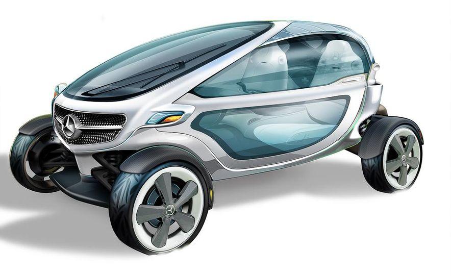 Mercedes-Benz Vision Golf Cart concept (artist's rendering) - Slide 4