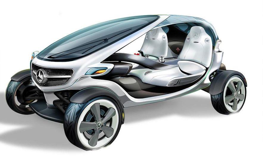 Mercedes-Benz Vision Golf Cart concept (artist's rendering) - Slide 5