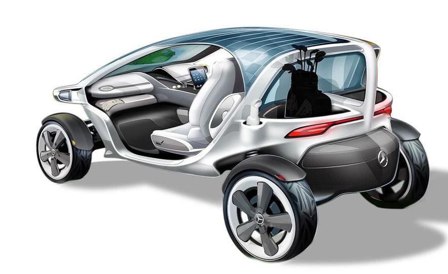 Mercedes-Benz Vision Golf Cart concept (artist's rendering) - Slide 6