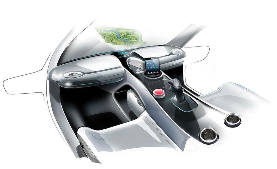 Mercedes-Benz Vision Golf Cart concept (artist's rendering) - Slide 9