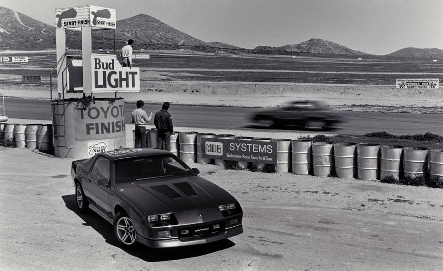 Ford Mustang LX 5.0 and Chevrolet Camaro IROC-Z - Slide 4