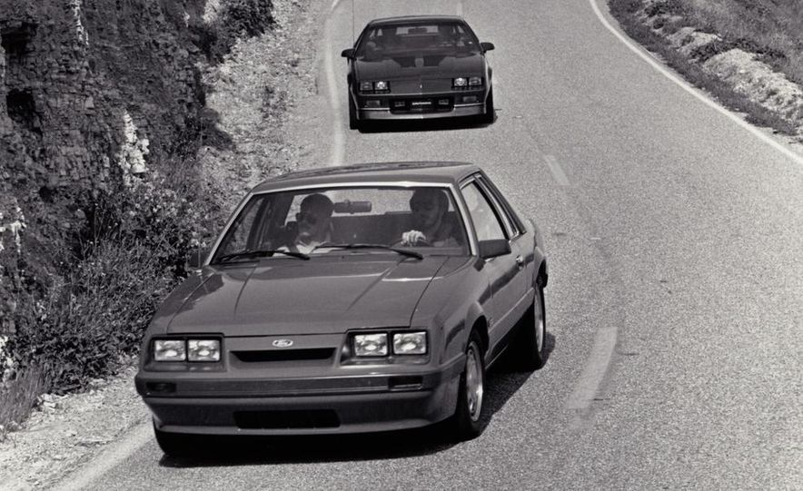 Ford Mustang LX 5.0 and Chevrolet Camaro IROC-Z - Slide 2