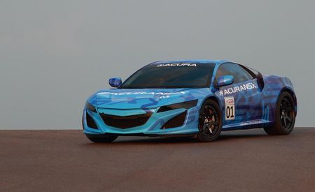 Acura's Next-Gen NSX Laps Mid-Ohio, Looks and Sounds Gnarly