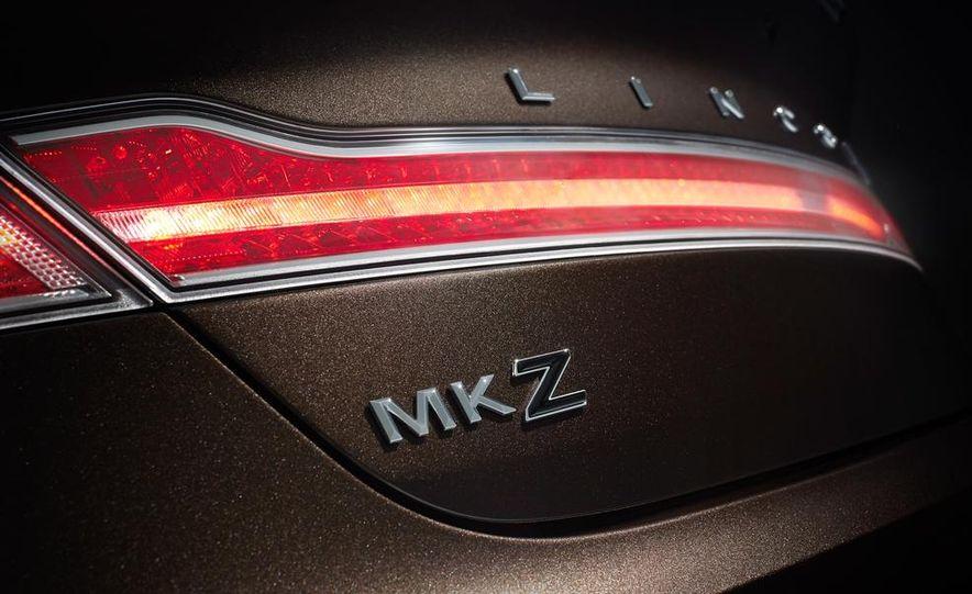 2015 Lincoln MKZ Black Label - Slide 8