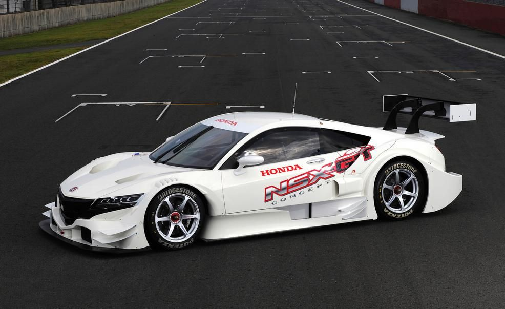 NSX ConceptGT race car  Photo Gallery  Car and Driver