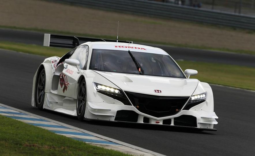 NSX Concept-GT race car - Slide 10