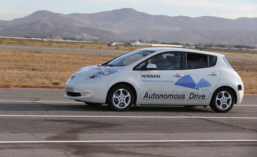 Nissan Leaf at Nissan Autonomous Drive announcement - Slide 1