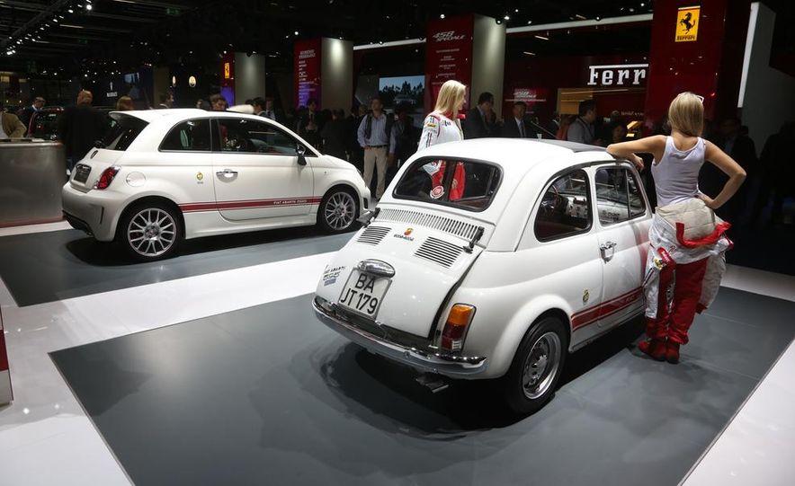 Fiat 500 Abarth 595 50th Anniversario Edition and 1963 500 Abarth 595 Edition - Slide 1
