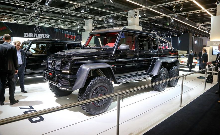 Brabus B63S  700 6x6  Photo Gallery  Car and Driver