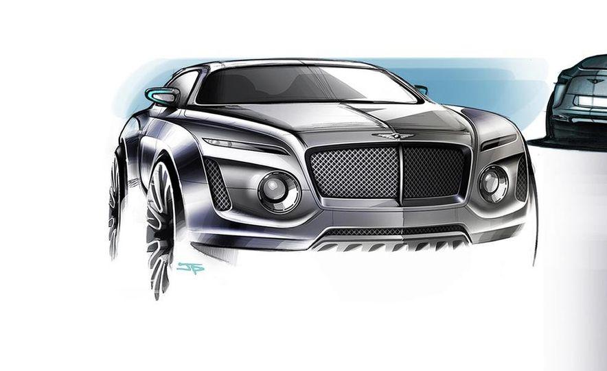 Bentley EXP 9 F concept (artist's rendering) - Slide 1