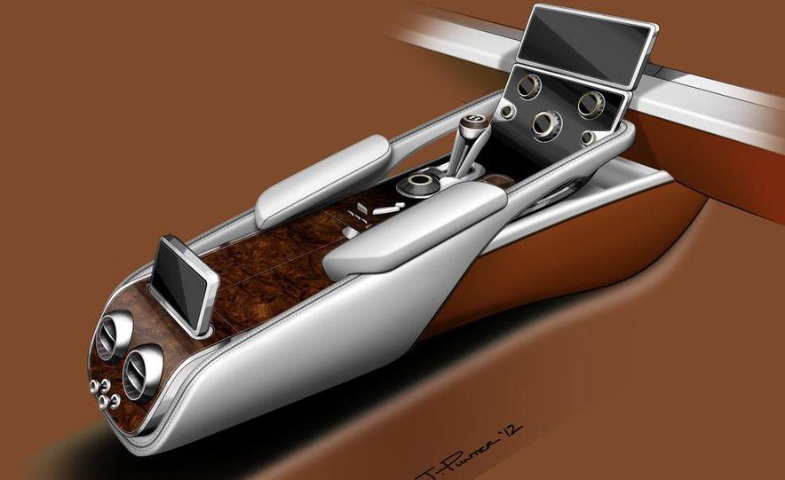 Bentley EXP 9 F concept (artist's rendering) - Slide 14
