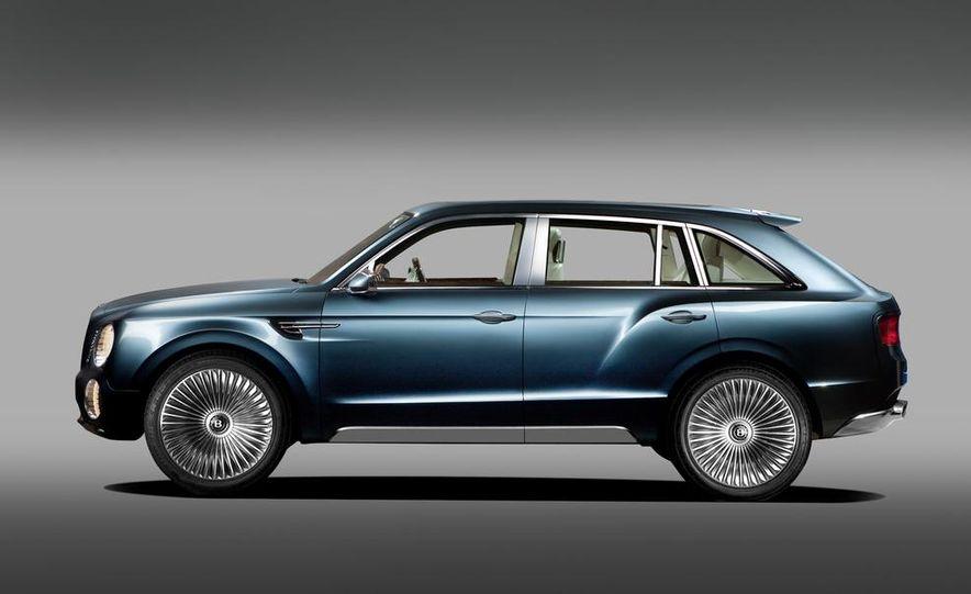Bentley EXP 9 F concept (artist's rendering) - Slide 4