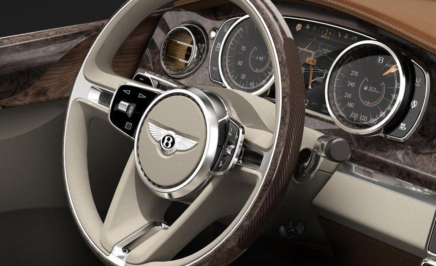 Bentley EXP 9 F concept (artist's rendering) - Slide 9