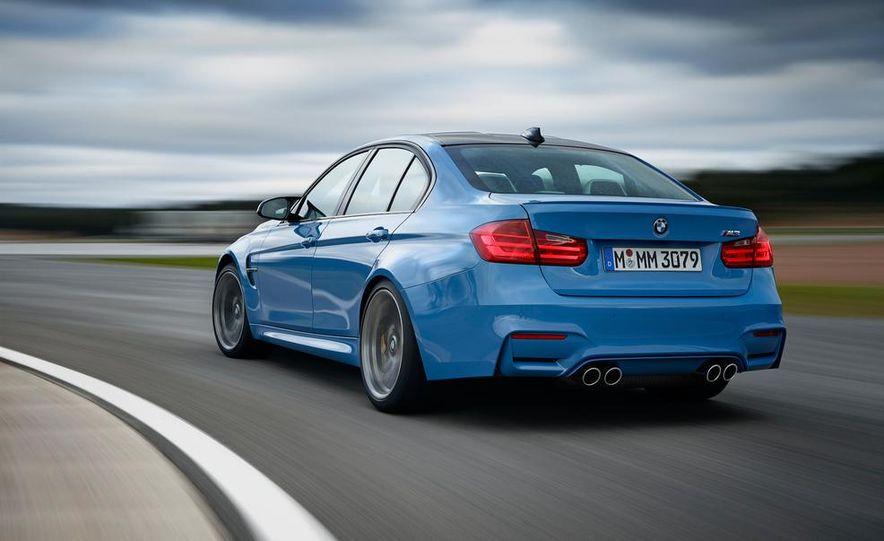 2015 BMW M3 sedan - Slide 4