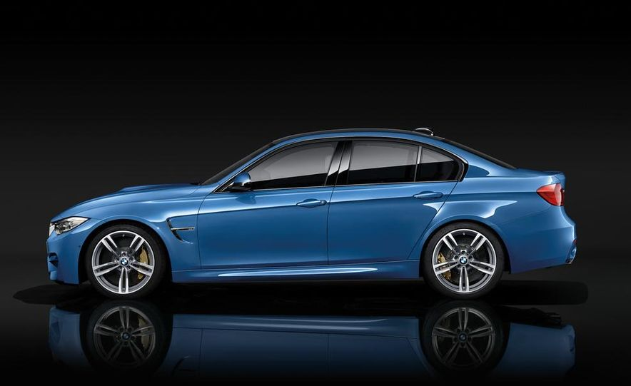 2015 BMW M3 sedan - Slide 15
