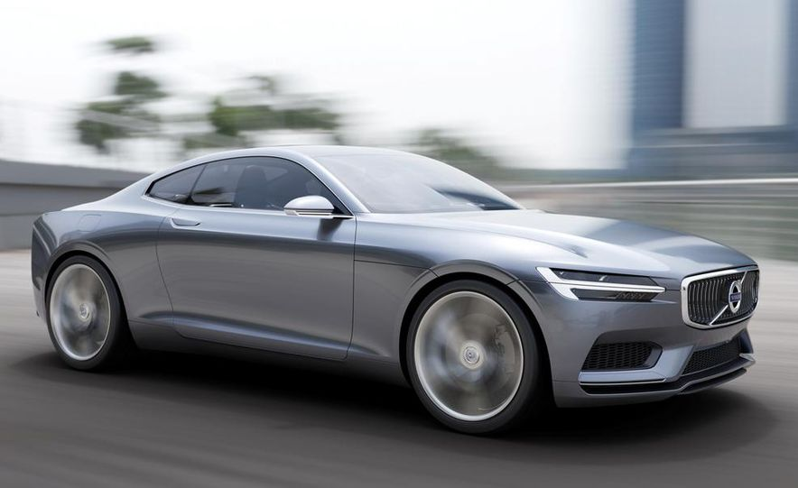 Volvo Concept Coupe - Slide 1