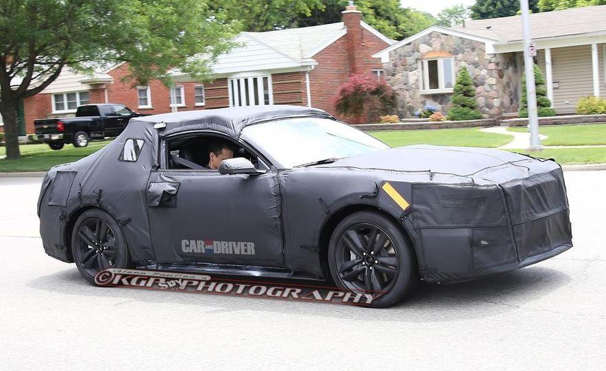 2015 Ford Mustang (spy photo) - Slide 1