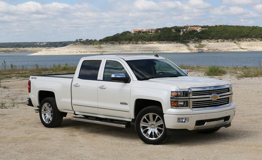 2014 Chevrolet Silverado High Country - Slide 1