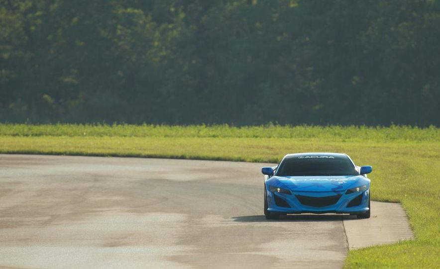 NSX Concept-GT race car - Slide 16