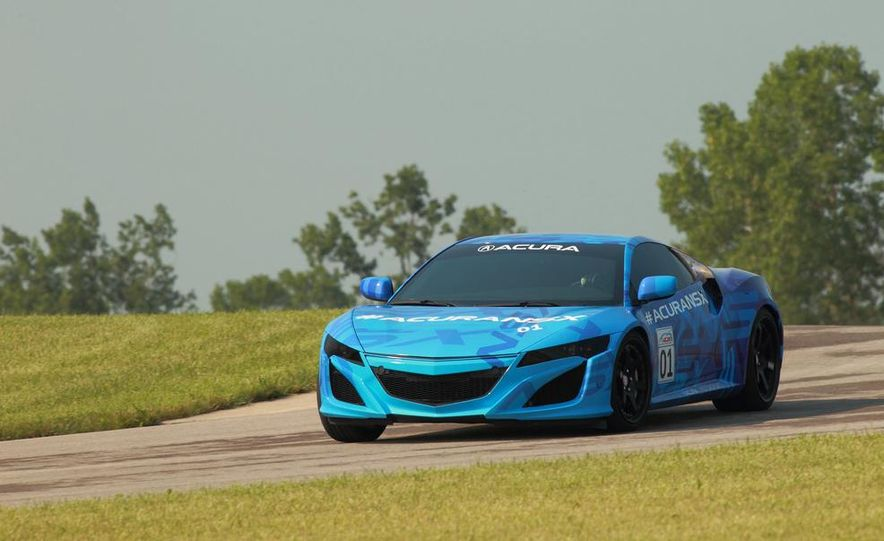 NSX Concept-GT race car - Slide 17