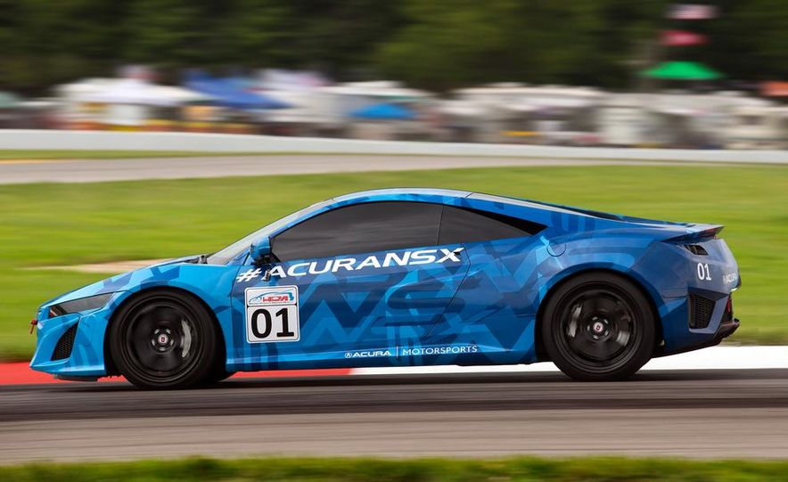 NSX Concept-GT race car - Slide 19
