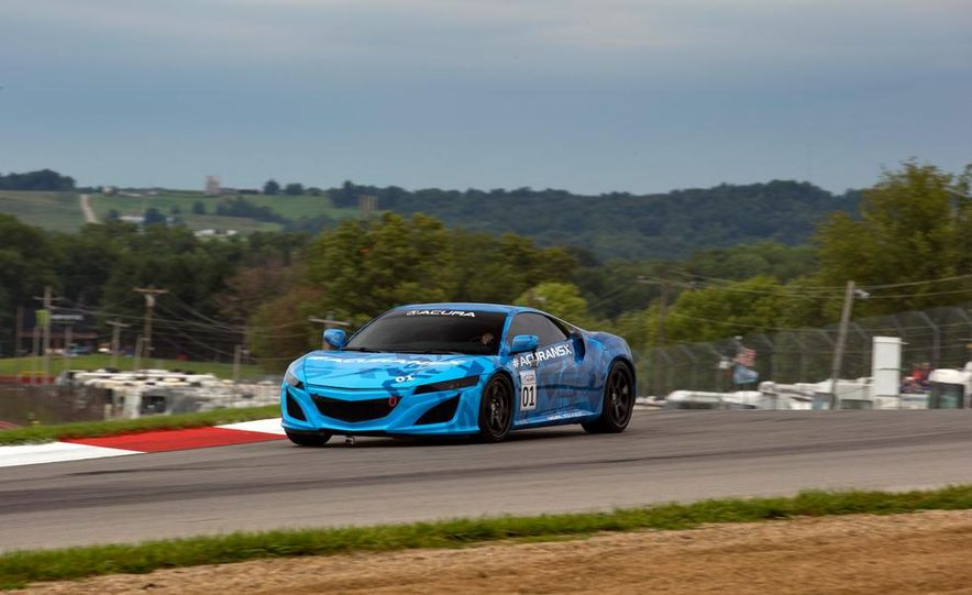 NSX Concept-GT race car - Slide 20