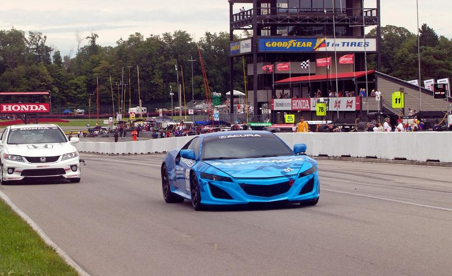 NSX Concept-GT race car - Slide 21