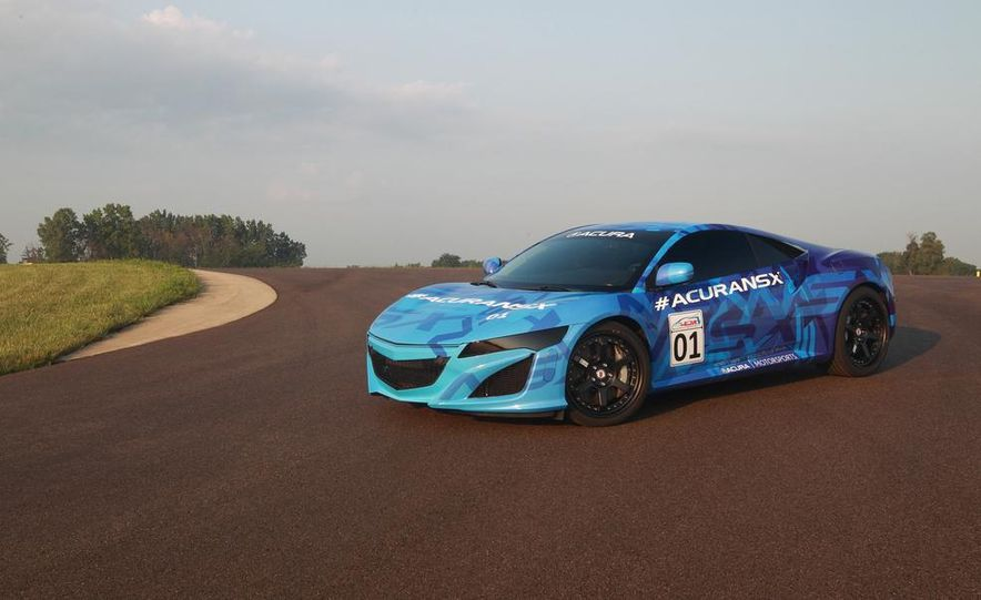 NSX Concept-GT race car - Slide 22
