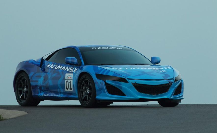 NSX Concept-GT race car - Slide 23