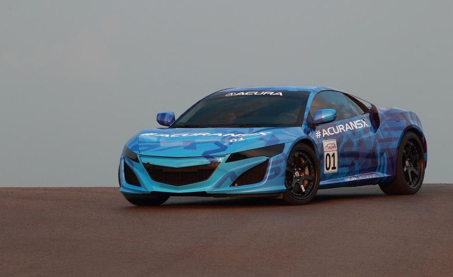 NSX Concept-GT race car - Slide 24