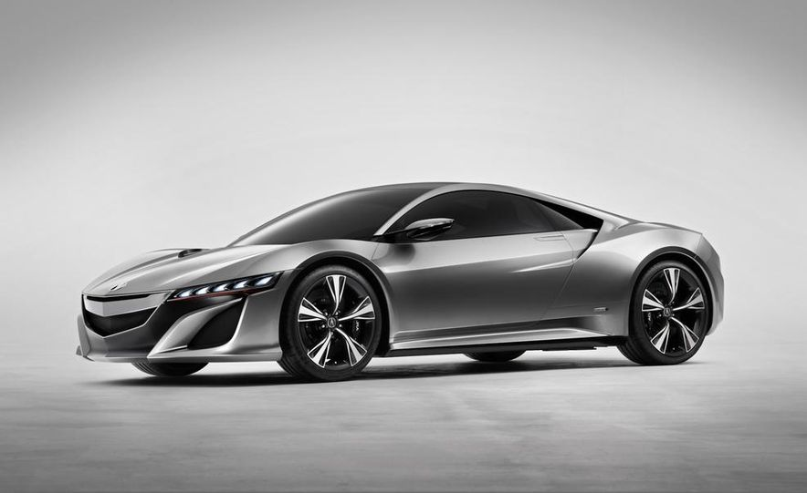NSX Concept-GT race car - Slide 25