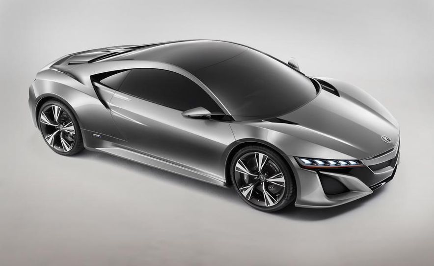 NSX Concept-GT race car - Slide 26