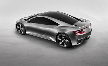 It's Not Tea if It Hasn't Been Brewed Using Acura NSX GT Concept–Sourced Energy