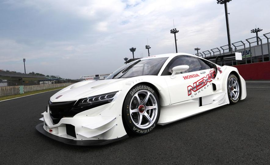 NSX Concept-GT race car - Slide 7
