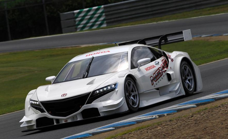 NSX Concept-GT race car - Slide 1