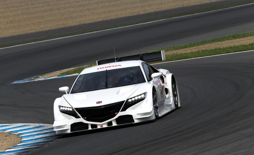 NSX Concept-GT race car - Slide 5