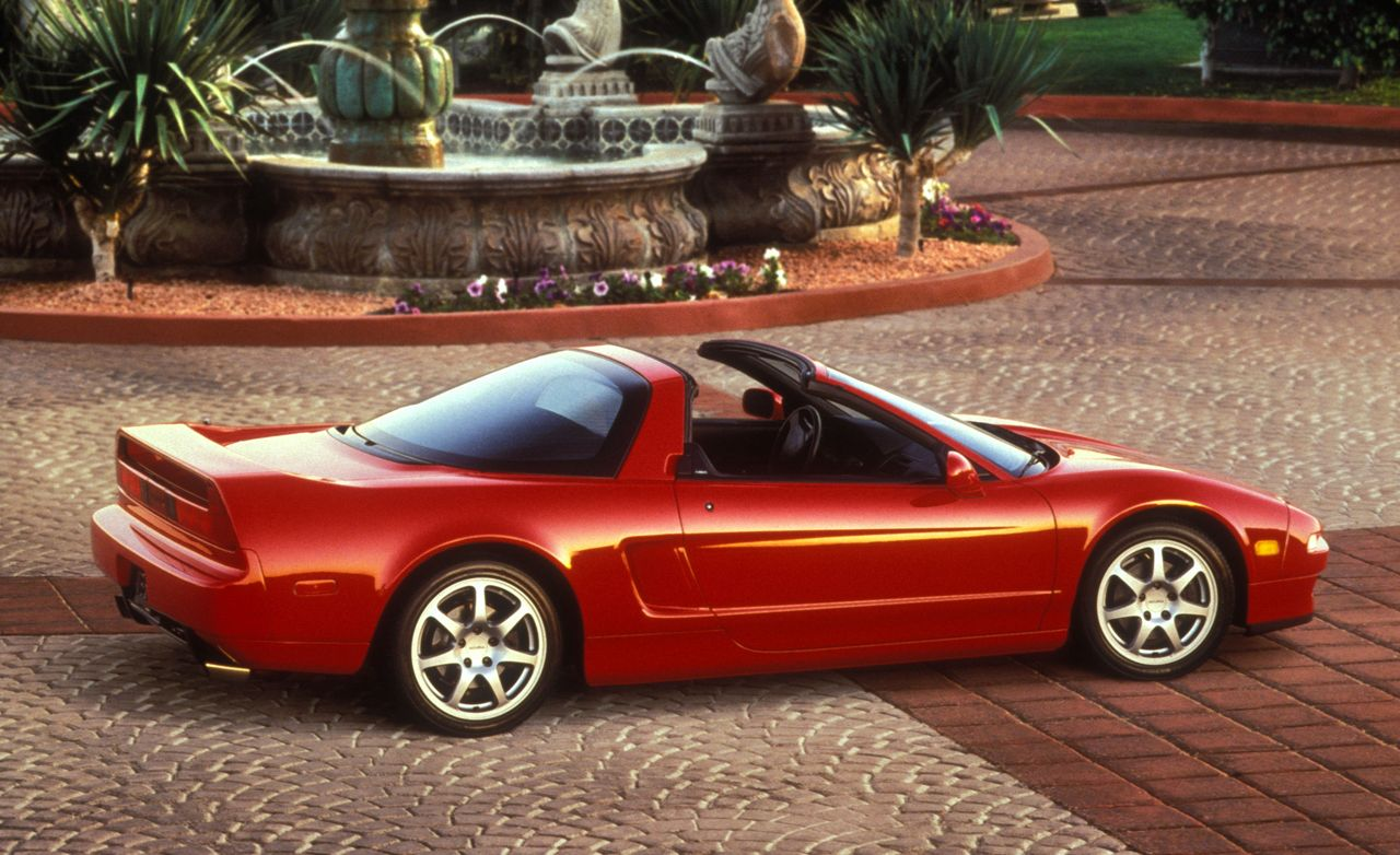 Acura NSX-T SportShift: Bright, Breezy, and Shiftless