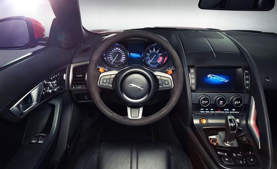2014 Jaguar F-type V-8 S - Slide 27