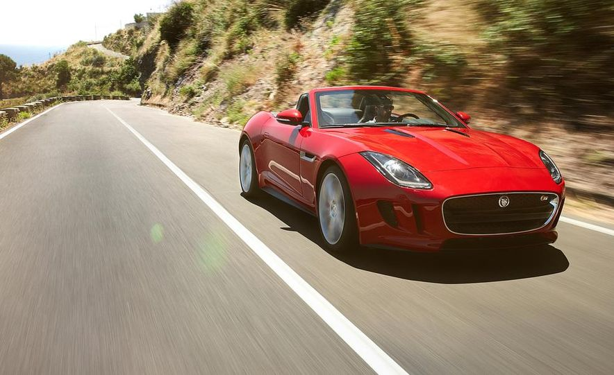 2014 Jaguar F-type V-8 S - Slide 14