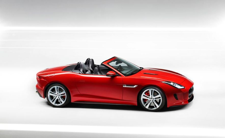 2014 Jaguar F-type V-8 S - Slide 18