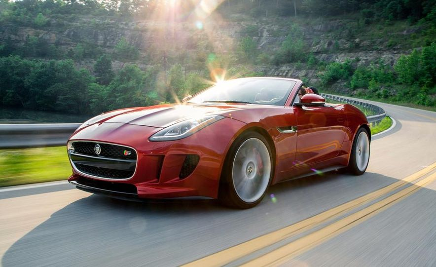 2014 Jaguar F-type V-8 S - Slide 1