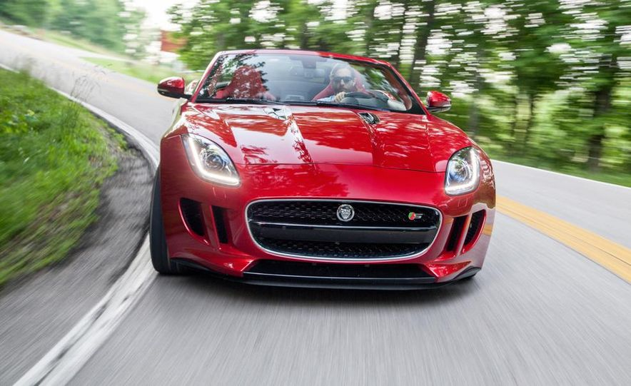 2014 Jaguar F-type V-8 S - Slide 2