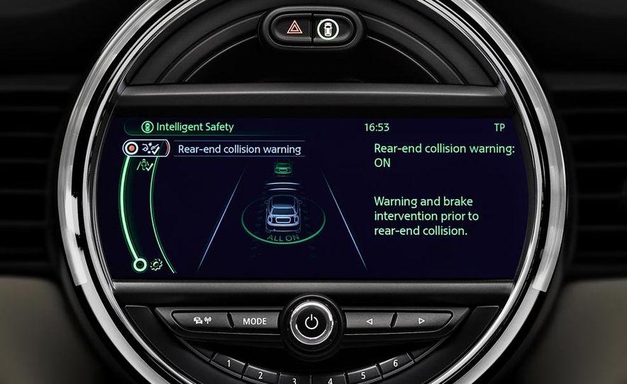 2014 Mini Cooper steering-wheel-mounted controls - Slide 5