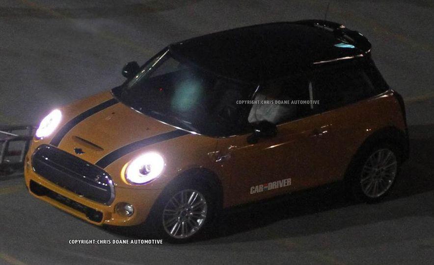 2014 Mini Cooper steering-wheel-mounted controls - Slide 28