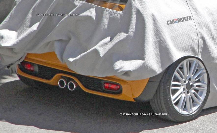 2014 Mini Cooper steering-wheel-mounted controls - Slide 29